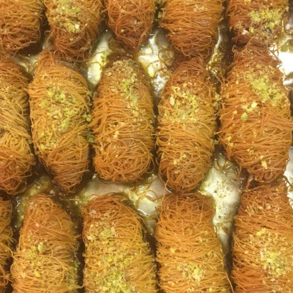Baklavaa pistaatsia pähklitega